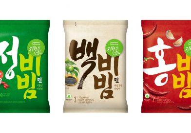 풀무원, '정백홍 비빔면' 3종 출시